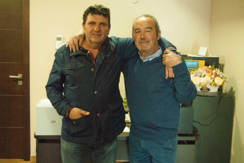 Miguel y Curro equipo El Perdigón